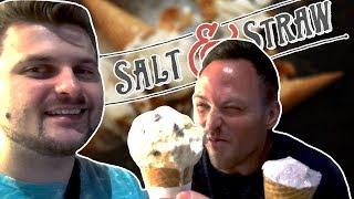 Мороженое с козьим сыром и лавандой из Лос Анджелеса