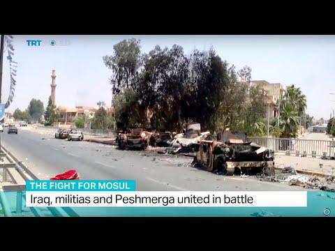 Fight For Mosul: Iraq, militias and Peshmerga united in battle, Ben Said reports