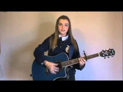 Allie FFA Nationals Auditions 2013