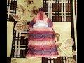 Поделки - Конверт на выписку спицами (вязание+ткань)
