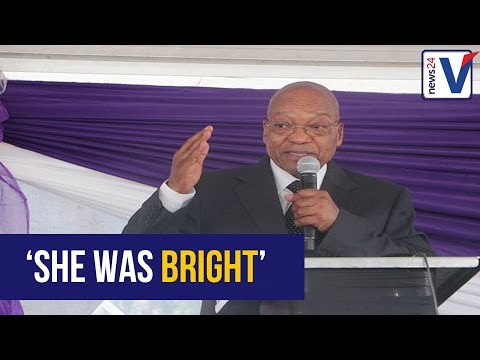 WATCH: President Zuma praises and shares his fondest moments with Ontlametse