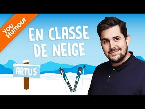 ARTUS - En classe de neige