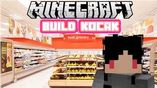 Minecraft Indonesia - Build Kocak (25) - Minimarket!