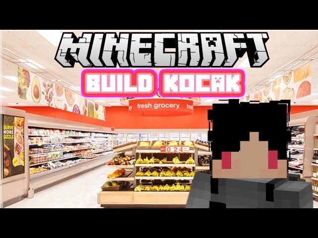 Minecraft Indonesia - Build Kocak (25) - Minimarket!