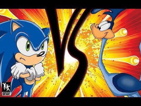 Sonic VS Road Runner - The Fastest Blue