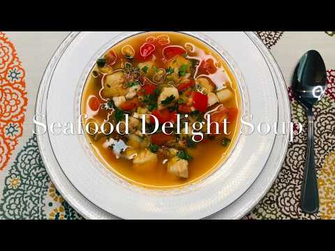 Seafood Soup Recipe #WithMe