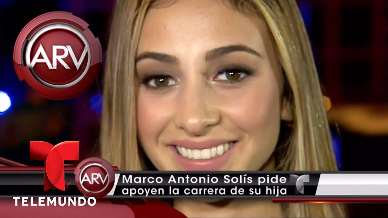 Marco Antonio Solís pide apoyo para carrera de su hija   Al Rojo ...