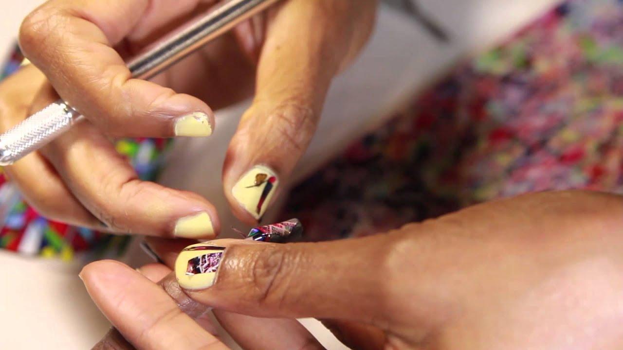 Maisie Dunbar demos Empower Nail Art films at Premiere Orlando - YouTube
