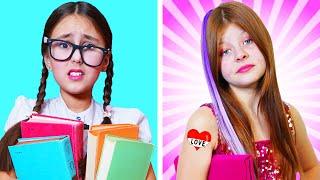 ESTUDIANTE NERD vs POPULAR || ¡Comedia por Amigos Forever!