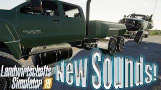 Farming simulator 19 New Sounds + Rock Crawling 4500 6x6 Turbo Diesel!