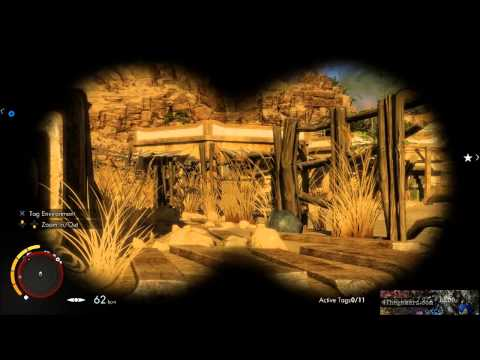 Sniper Elite 3 OverWatch Radio Silence (720p) Live Party Chat Playstation 4