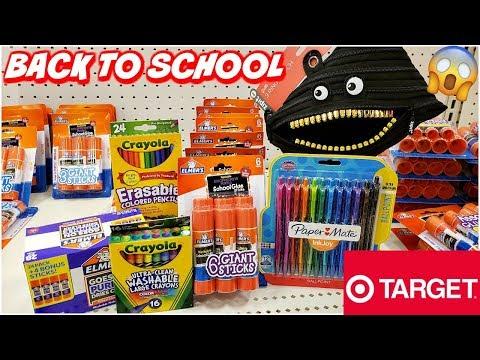 Target BACK TO SCHOOL SHOPPING * SCHOOL SUPPLIES  2019