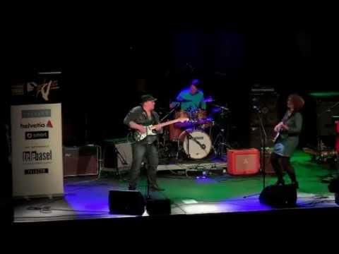 BLUES FESTIVAL BASEL 2014 MICK & ELLI KALUZNY BLUES BAND - live