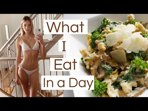 What I Eat In A Day | Healthy & Easy Nutritious Meals, Tasty Recipes, & CARBS | Sanne Vloet thumbnail
