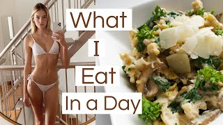 What I Eat In A Day | Healthy & Easy Nutritious Meals, Tasty Recipes, & CARBS | Sanne Vloet