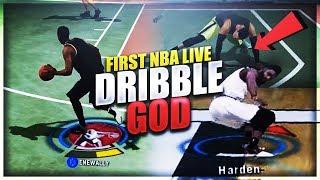 FIRST NBA LIVE 18 DRIBBLE GOD?!? NBA LIVE 18 FIRE OR TRASH?