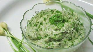 Lasun nu Kachu Recipe - Green Garlic with Mashed Potatoes Recipe - Lasun Kachu Recipe in Hindi