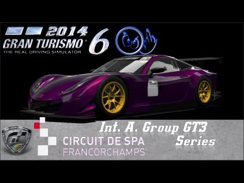 Gran Turismo 6 Int A Group GT3 Spa Francorchamps