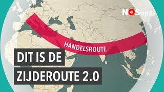Wij liggen dus aan de Zijderoute 2.0 van China | NOS op 3