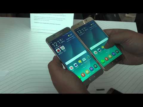 Знакомство с Samsung Galaxy Note 5