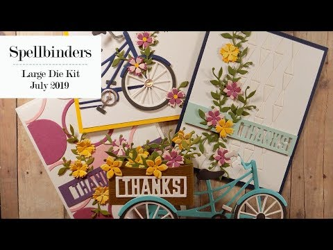 Repeat Unboxing - Spellbinders August'19 Card Kit of the