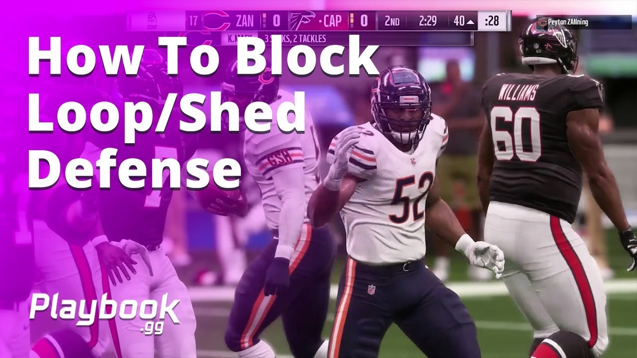 How to block loop and shed defenses in Madden 19