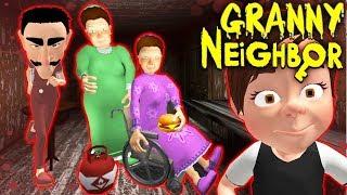 СЕМЕЙКА СТРАШНЫЕ СОСЕДИ ГРЕННИ - Neighbor's Family Secret Granny Escape