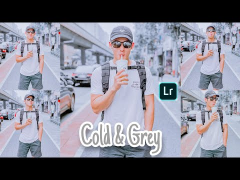 Tutorial Edit Foto Ala Selebgram | Cold & Grey | LIGHTROOM TUTORIAL