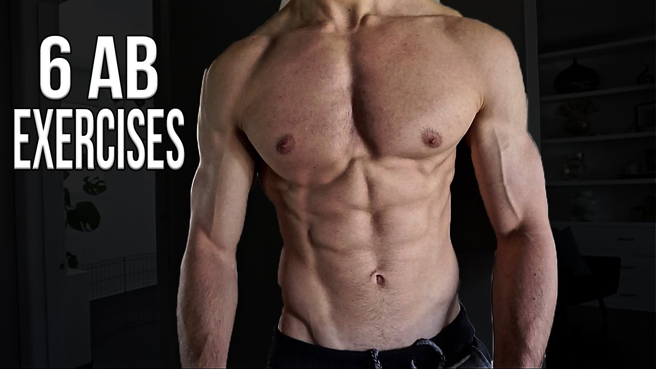 6 AB EXERCISES FOR SIX PACK ABS AT HOME 2016 Men Women