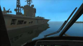 GTA IV Driveable USS Nimitz class aircraft carrier (MOD)