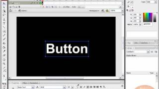 Creating, Animating Advanced Rollover Buttons in Flash CS3