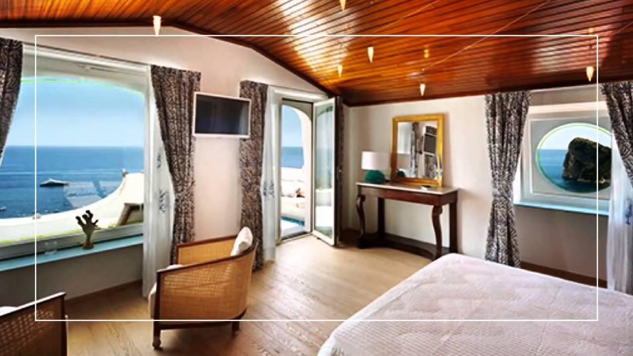 Ville di Lusso  Villa Mare Blu Nerano Tappezzeria e