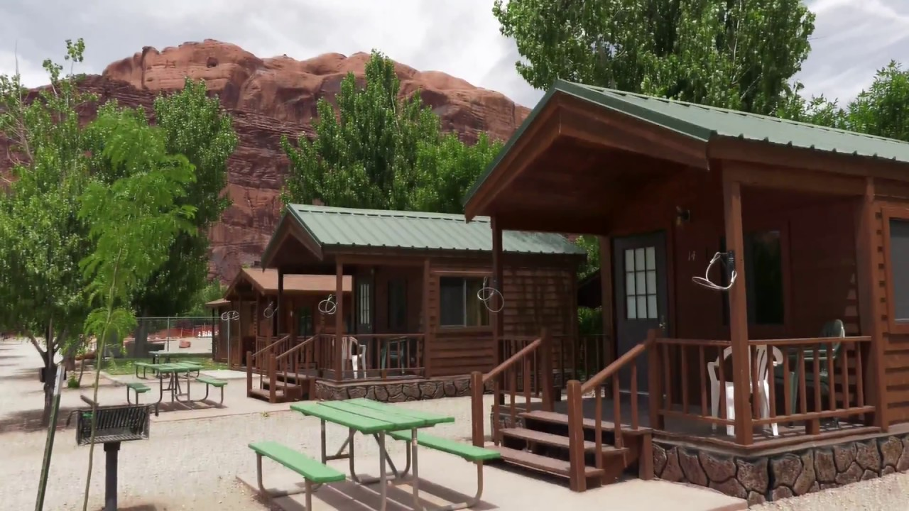 Moab Valley RV Resort & Campground Cabin Tour