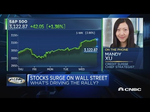 Investors dangerously piling into value stocks: Credit Suisse's Mandy Xu