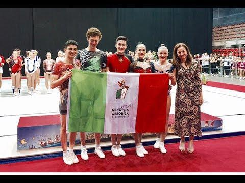 Genova - Campionati Assoluti di Aerobica 2017