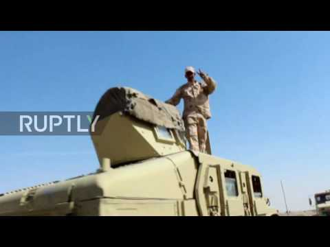 Iraq: Army moves into position ahead of final assault on Mosul - reports