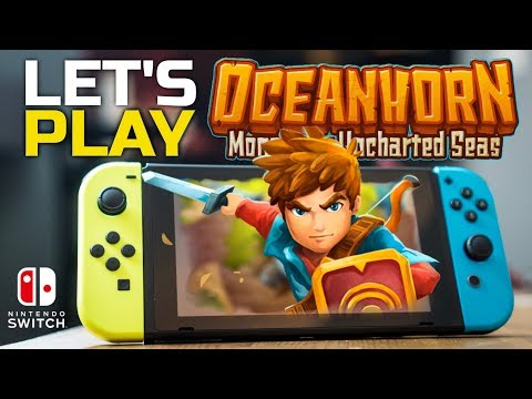The Weakest Link? Let's Play Oceanhorn Monster of Uncharted Seas on Nintendo Switch
