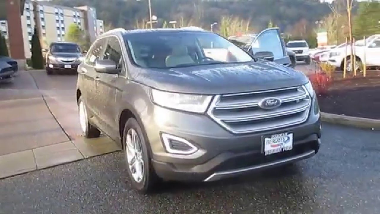 2015 ford edge magnetic metallic stock 20971 walk around - 2015 Ford Edge Titanium Magnetic