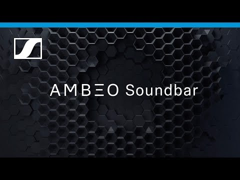 AMBEO Soundbar   Sennheiser