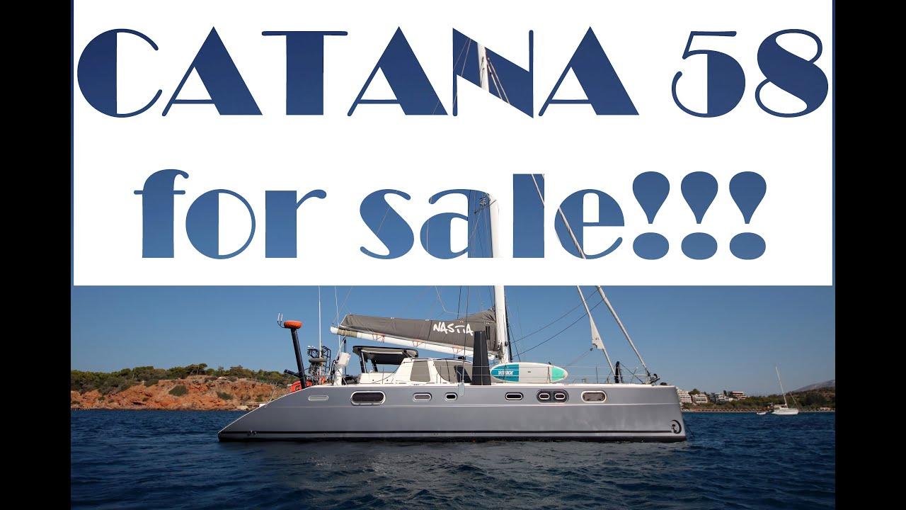 Download CATANA 58 performance cruising catamaran for sale