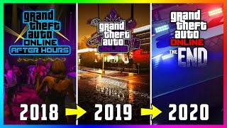 The Future Of GTA 5 Online - The FINAL Update, DLCs Ending In 2020, Roleplaying Expansion & MORE!