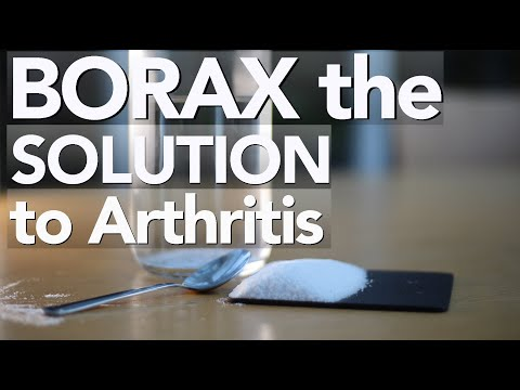 BORAX Is The TREATMENT FOR ARTHRITIS | Natural Arthritis Remedies | Boron | Osteoporosis | Adrian