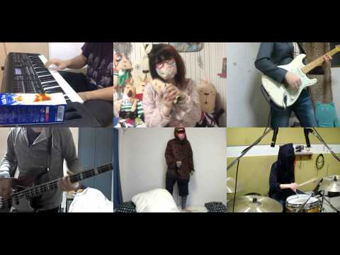 [HD]Namiuchigiwa no Muromi san OP [Nanatsu no Umi yori Kimi no Umi] Band cover