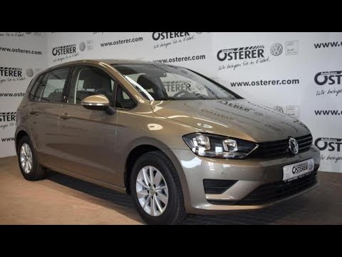 volkswagen golf sportsvan trendline 1 2 tsi bmt einparkhilfe youtube. Black Bedroom Furniture Sets. Home Design Ideas