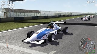 TOCA Race Driver 3 - Formula J-1000 (Donington National) Gameplay 1080p
