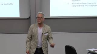 Complexity, cases and health, Professor Brian Castellani