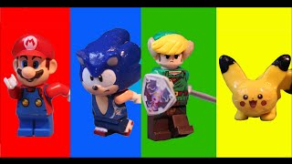 THE LEGO SUPER SMASH BROS. MOVIE!!