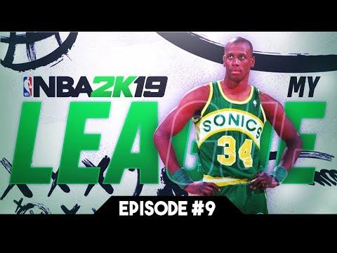 Repeat NBA 2K18 Seattle Sonics MyLeague Expansion E2 | 1st