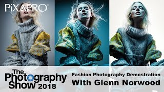 Fashion Photography Demonstration with Glenn Norwood - The Photography Show 2018