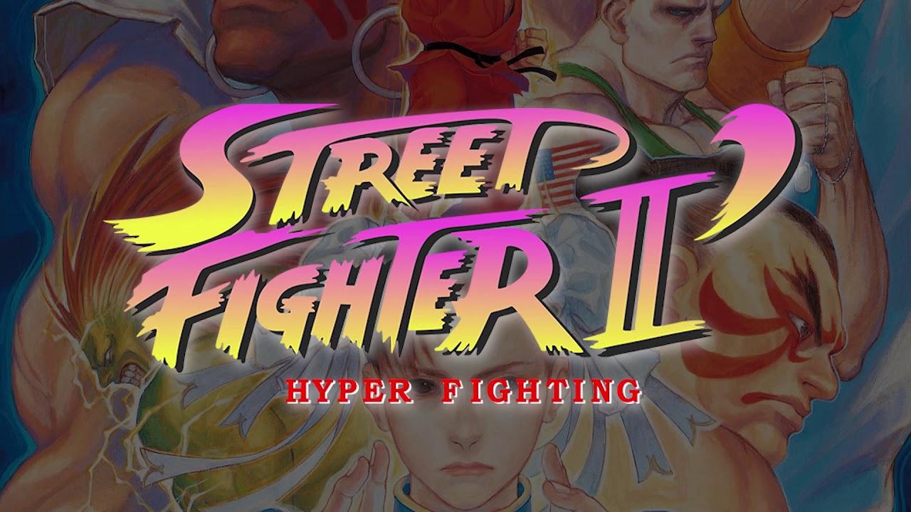street fighter 2 turbo hyper fighting logo